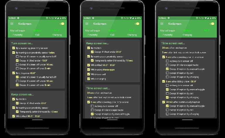 KinScreen - screen control