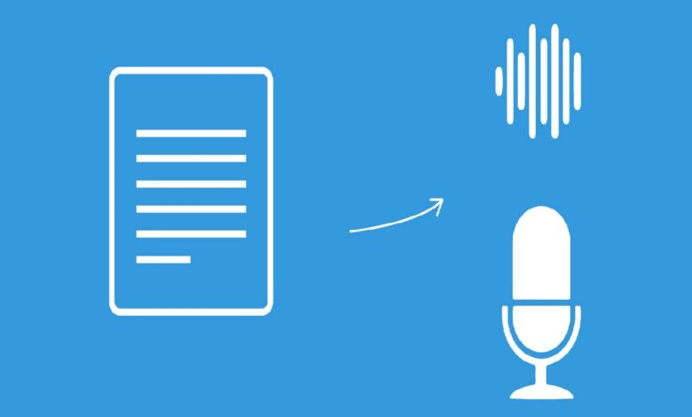 Applying Text to Speech Services