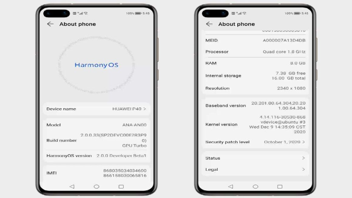 Harmony Os 2.0 Is Faster and More Economical Than Android