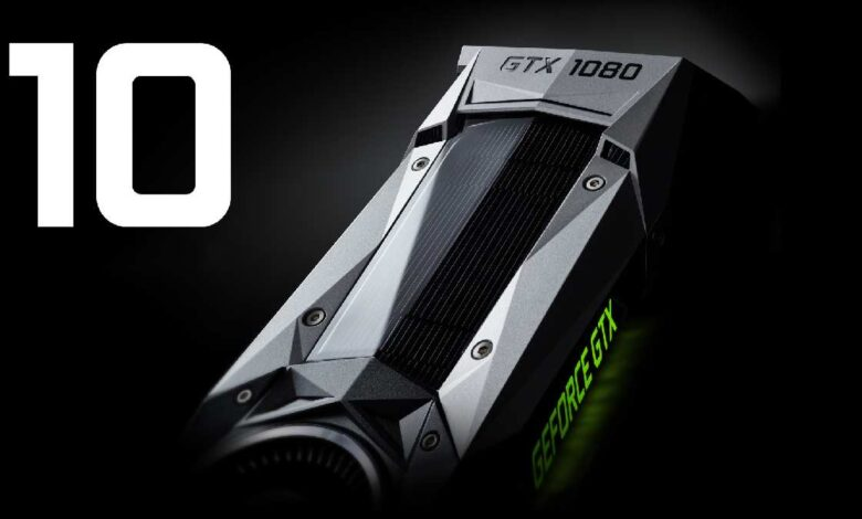 Comparison of the GeForce GTX 10 series Graphics cards for gaming