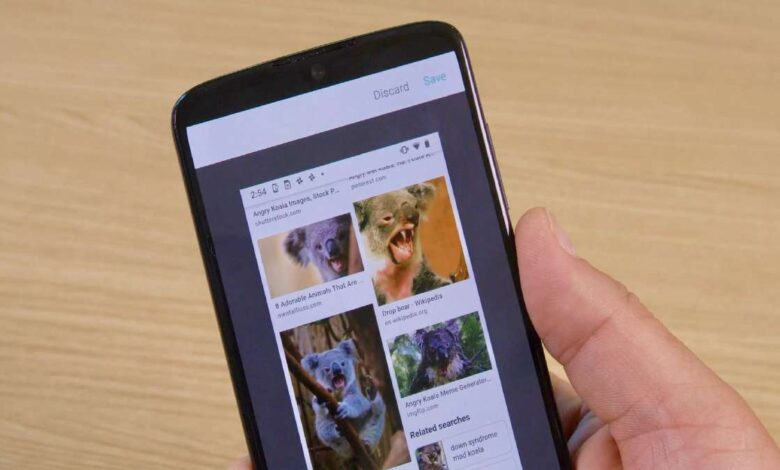 How to send screenshots quickly on Android