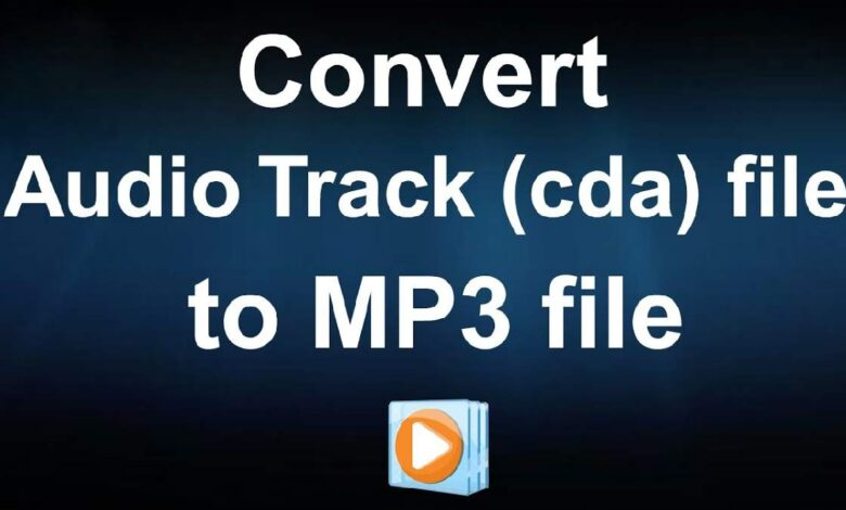 How to convert CDA file to MP3
