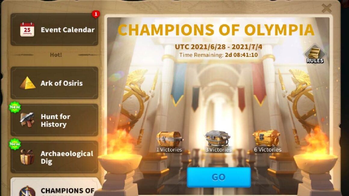 Free to play Rise Of Kingdoms