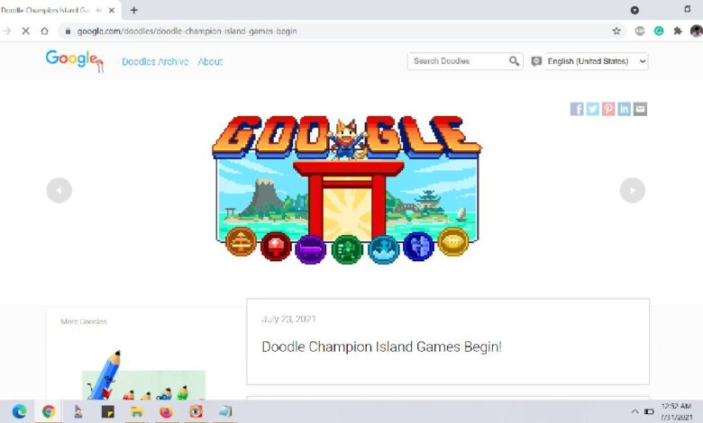 How To Play Google Olympic Doodle Games On Mobile