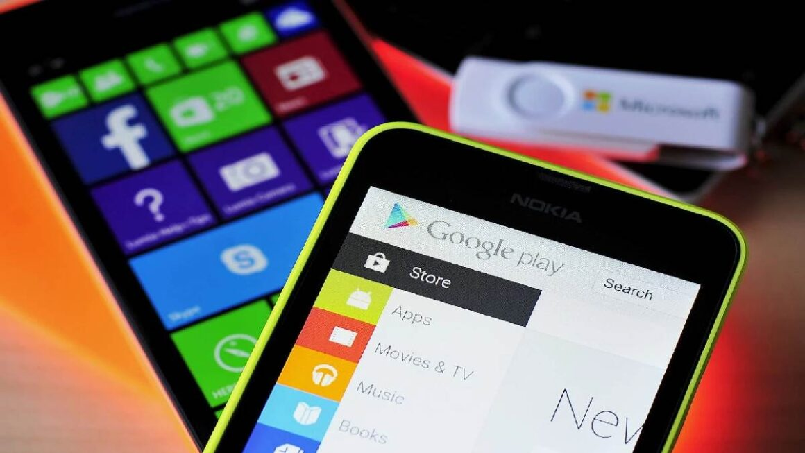 Android app store is richer than Windows Phone