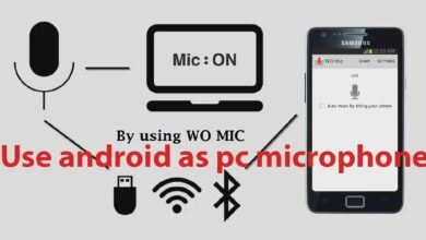 How to use Android phone as a microphone for computer
