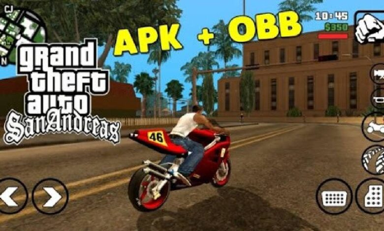Download GTA San Andreas APK OBB For Android