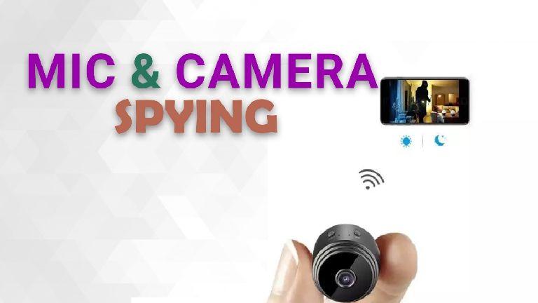 TheWiSpy mic cam spying