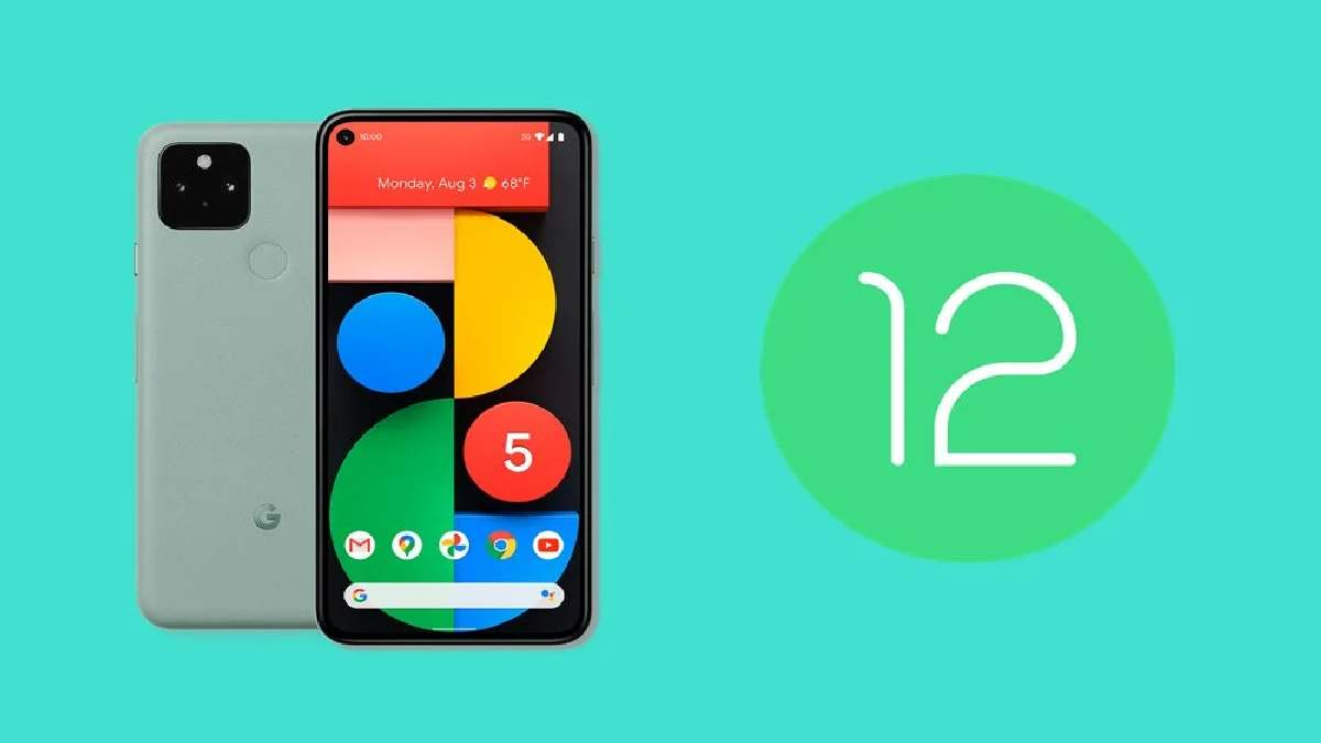 Android 12 on the Google Pixel