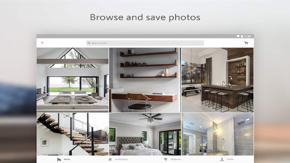 App for arranging furniture